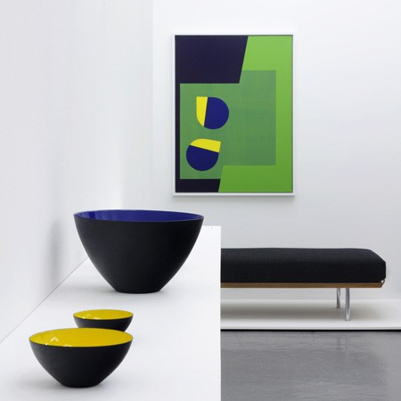 Herbert Krenchel, Hans Wegner and Ib Geertsen at Rocket Gallery